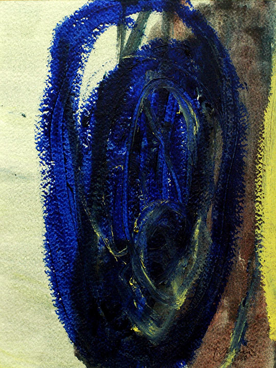 Natural Images IV, Imagens Naturais IV, oil on canvas/ óleo sobre tela, 30,5 x 23 cm, 2008