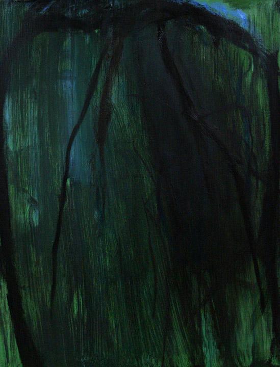 Extraordinary Coincidence/ Extraordinária Coincidência, oil on canvas/ óleo sobre tela, 116 x 89 cm, 2007