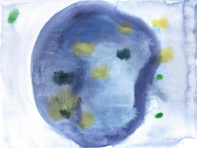 Untitled 11, watercolour on paper/ aguarela sobre papel, 24 x 32 cm, 2011