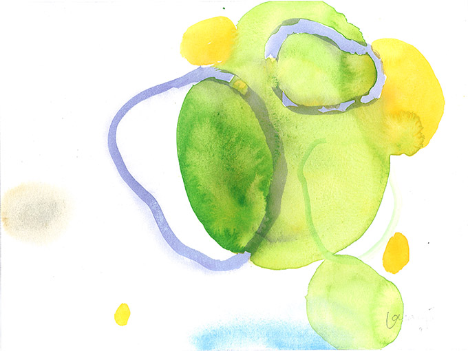 Untitled 2, watercolour on paper/ aguarela sobre papel, 24 x 32 cm, 2011