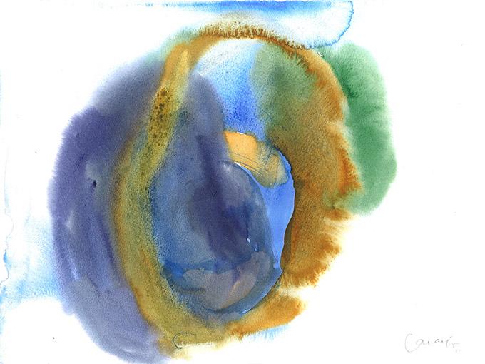 Untitled 8, watercolour on paper/ aguarela sobre papel, 24 x 32 cm, 2011