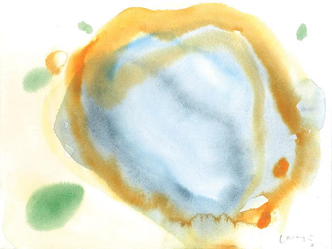 Untitled 16, watercolour on paper/ aguarela sobre papel, 24 x 32 cm, 2011