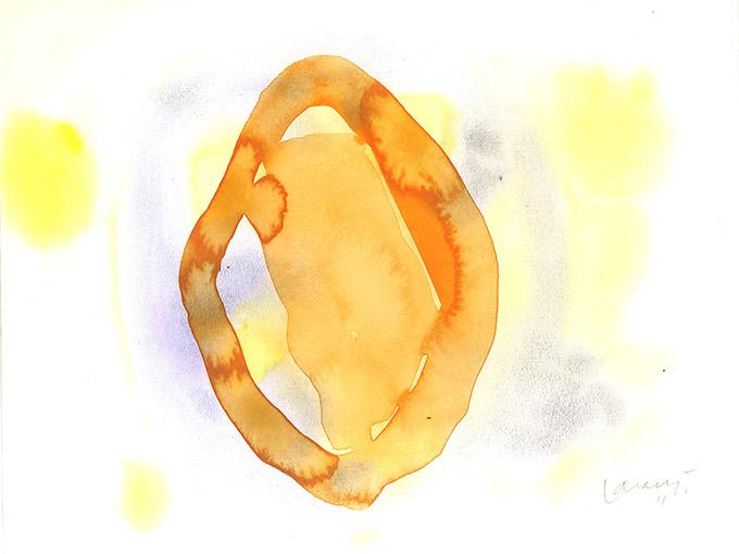 Untitled 12, watercolour on paper/ aguarela sobre papel, 24 x 32 cm, 2011