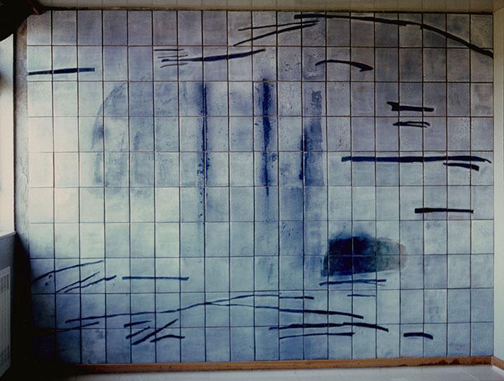 Painel de Cerâmica/ Ceramics Panel, Instituto Português de Oncologia, Porto, Portugal, 1992