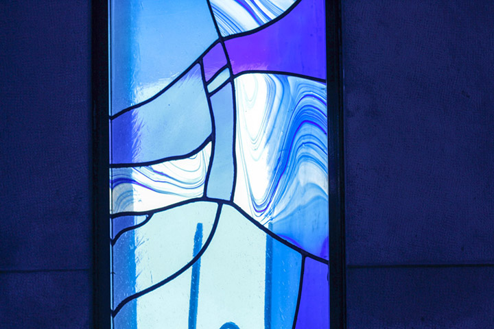 Vitrais/ Stained Glass, Igreja de São Martinho de Cedofeita, Porto, 1996